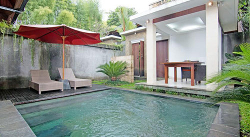 Zen Villa Pengosekan Ubud Bali Indonesia Flyin Com