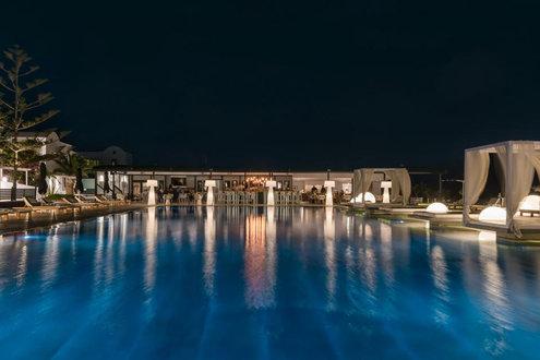 Mediterranean Beach Palace Hotel Santorini