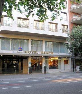 Best Western Premier Hotel Dante Barcelona Spain Flyin Com